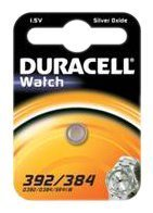 Duracell 75072549, Pila Speciale Orologi 392/384 - DRC 392/384