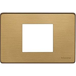 MAGIC - PLACCA 2P CENTRATI BRONZO - BTI 503/23A/BR