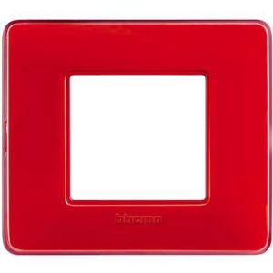 BTI AM4802CRD - MATIX - PLACCA 2P COLORE CORALLO - BTI AM4802CRD