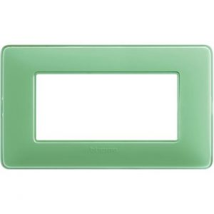 BTI AM4804CVC - MATIX - PLACCA 4P COLORE TE VERDE - BTI AM4804CVC
