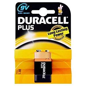 Duracell Plus Power Alkaline 9V non-rechargeable battery - DRC MN1604B1