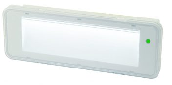 APPLIQUE EMERGENZA LED 60LM IP40 SE NI - CD 1H - VEL ER060