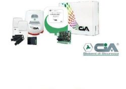 KIT CENTRALE FILARE ANTIFURTO EASY 4C/E - CIA KIT-EASY4C/E