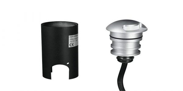 Fan Europe Faretto Calpestabile LED da Esterno - FAN LED-STEP-R-1