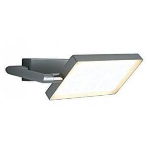 Applique a Libro a LED 15 W, Grigio, 10x22.5 - FAN EUROPE LED-BOOK-AP-GR