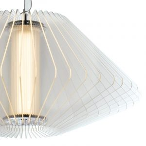 Lampadario a Sospensione Originale a Luce 21.6 W, Oro, 157x5 - FAN EUROPE LED-HUAYRA-S56