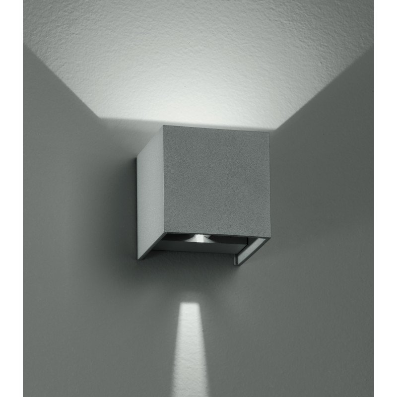 Fan Europe LED-W-ALFA/6W Applique cubica Moderna con Luce - FAN EUROPE LED-W-ALFA/6W