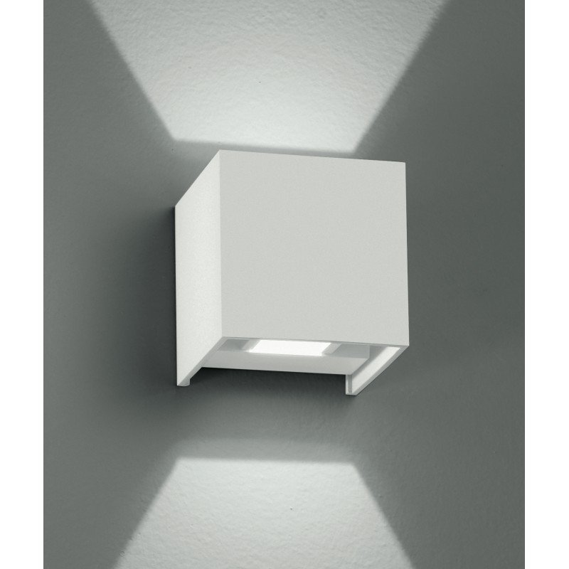 Fan Europe LED-W-ALFA/6W BCO Applique cubica Moderna - FAN EUROPE LED-W-ALFA/6WBCO