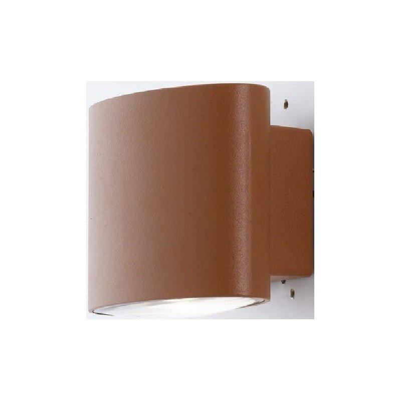 APPLIQUE A PARETE PER ESTERNO A PARETE LED 4000K BRONZO - FAN EUROPE LED-W-BOXTER BRO