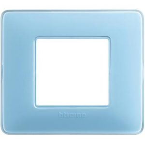MATIX – PLACCA 2P COLORS TURCH ( BTICINO cod. AM4802CAR ) – BTICINO AM4802CAR