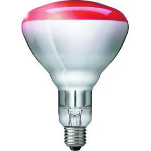 PHL IR150RH – BR125 IR 150W E27 230-250V RED 1CT/10 – PHILIPS IR150RH