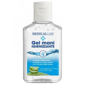GEL IGIENIZZANTE MANI CON ALCOL MEDICAL CARE 80ML - UNIFIX SWG S.R.L. 0890 801 080 01